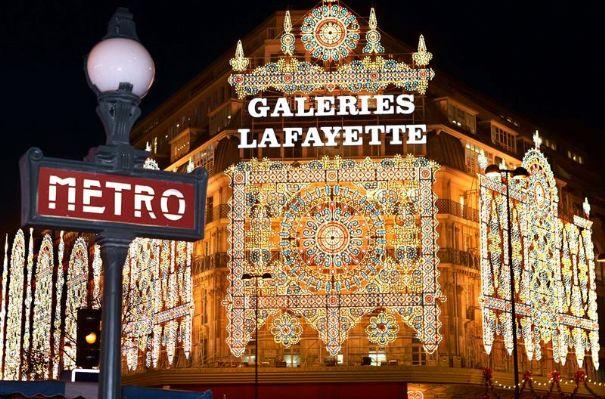 Afbeeldingsresultaat voor galeries lafayette parijs