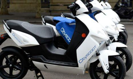Cityscoot gelanceerd in Parijs