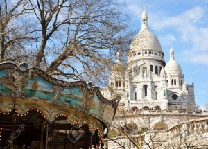 6750815-Old-carousel-and-Basilique-Sacre-Coeur-in-Paris-Stock-Photo