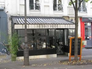 Restaurant in Batignolles