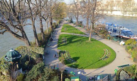 Miniparken van Parijs