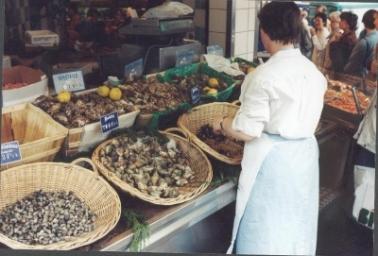 De markt op de Rue Lepic