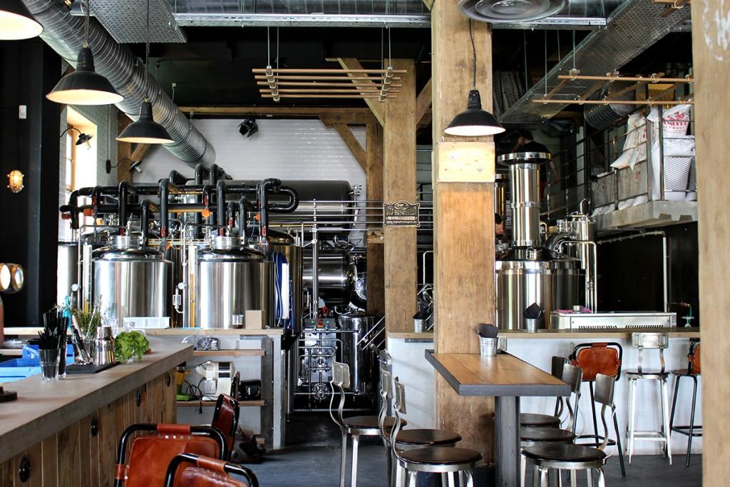 De ketels van de Paname Brewing Company