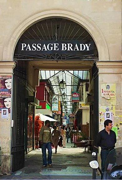 passage brady ingang 3