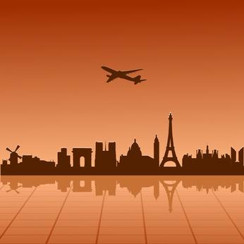 vliegtuig-parijs
